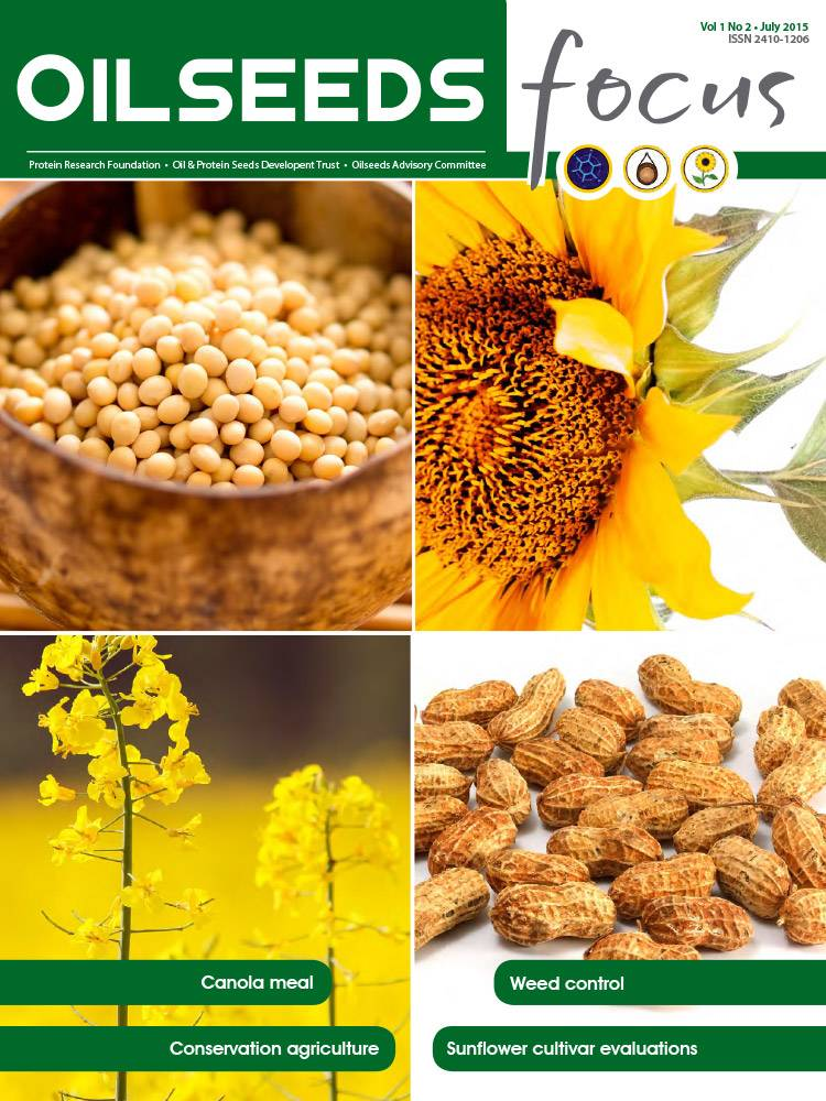 Cover of Oilseeds Focus Oilseeds Focus Vol 1 No 2 - July 2015