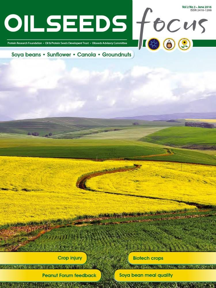 Cover of Oilseeds Focus Oilseeds Focus Vol 2 No 3 - June 2016