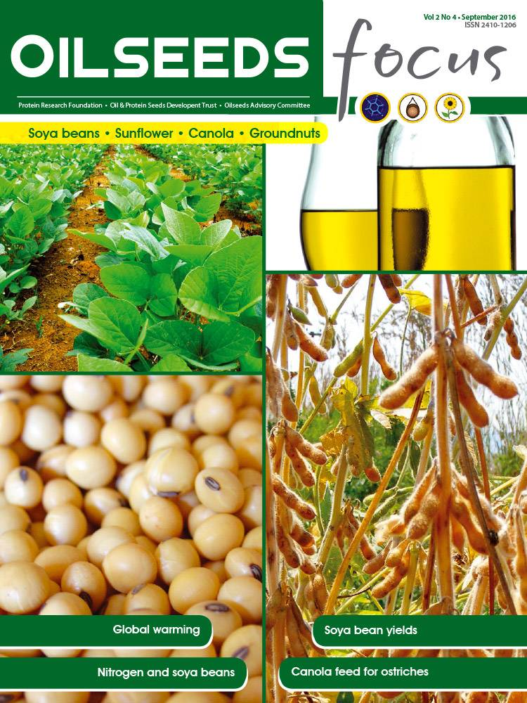 Cover of Oilseeds Focus Oilseeds Focus Vol 2 No 4 - September 2016