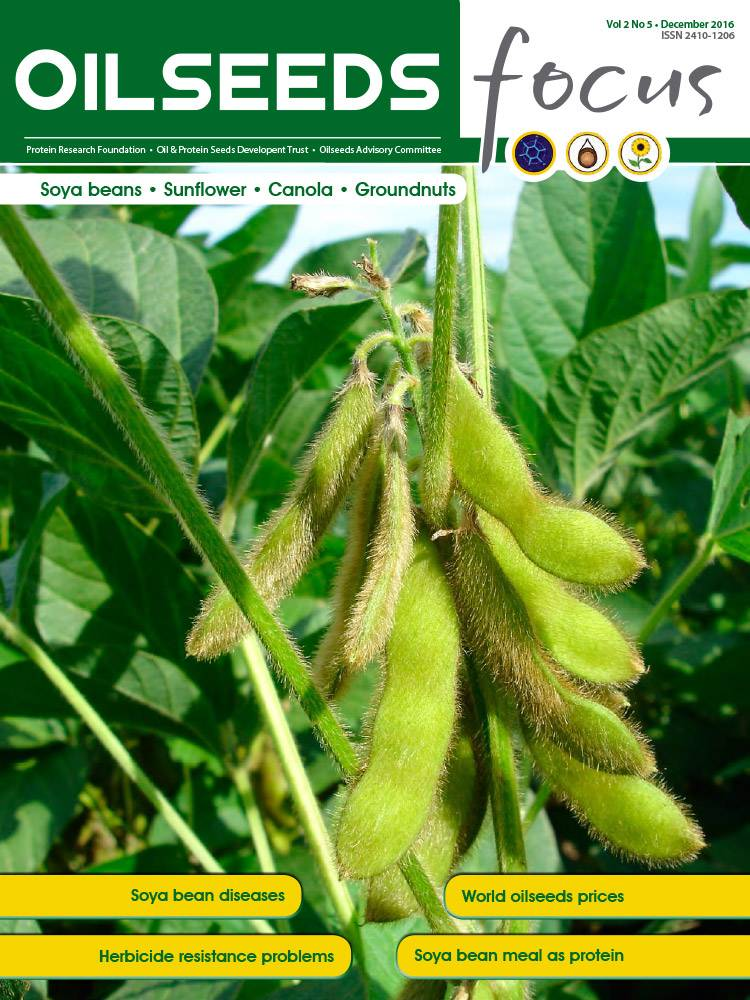 Cover of Oilseeds Focus Vol 2 No 5 – December 2016
