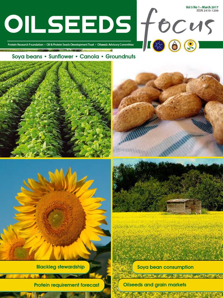 Cover of Oilseeds Focus Vol 3 No 1 – March 2017