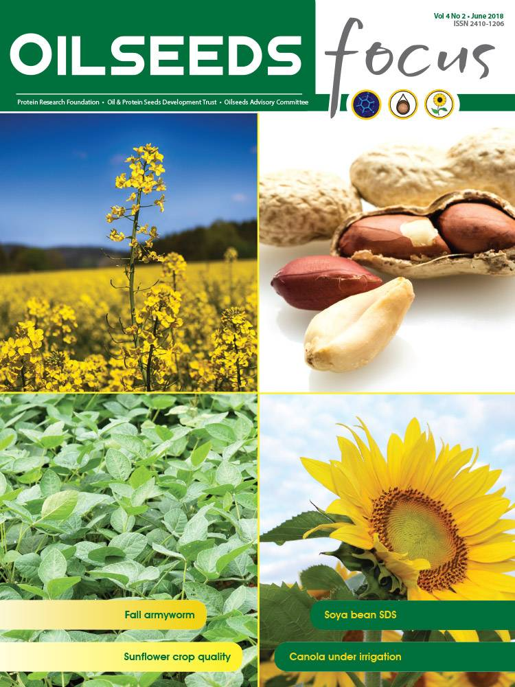 Cover of Oilseeds Focus Oilseeds Focus Vol 4 No 2 - June 2018