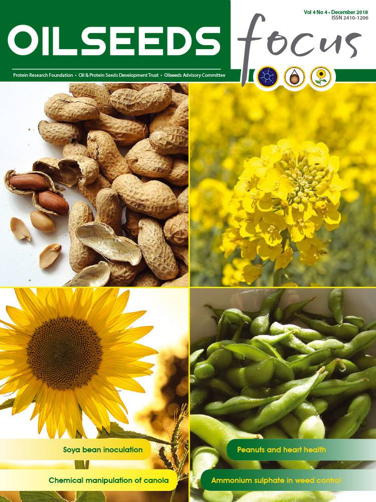 Cover of Oilseeds Focus Vol 4 No 4 – December 2018